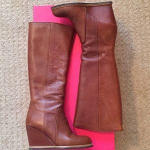 Kate spade zip up boots 🎉Host Pick🎉
